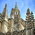 Cathedral Spires by Joan Carroll