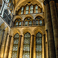 Cathedral Walls And Windows by Ken Andersen
