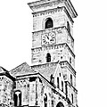Catholic Cathedral In Alba Iulia by Gabriela Insuratelu