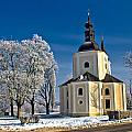Catholic Church In Town Of Krizevci by Brch Photography
