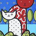 Cats 1 by Trudie Canwood