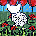 Cats 4 by Trudie Canwood