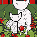 Cats 5 by Trudie Canwood