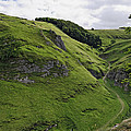 Cave Dale From Peveril Castle by Rod Johnson