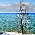 Cave Point County Park Door County  by Carol Toepke
