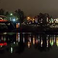 Caveman Bridge And Taprock At Christmas - Panorama by Mick Anderson