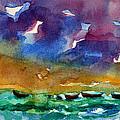 Cayman Color Water by Julianne Felton