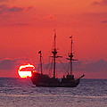 Cayman Sunset by Carey Chen
