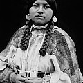 Cayuse Woman Circa 1910 by Aged Pixel