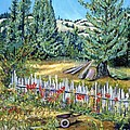 Cazadero Farm And Flowers by Asha Carolyn Young
