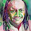 Cecil Taylor - Watercolor Portrait by Fabrizio Cassetta
