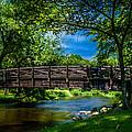 Cedar Creek Bridge by Randy Scherkenbach