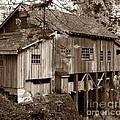 Cedar Creek Grist Mill Sepia by Chalet Roome-Rigdon