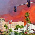 Cedar Fire San Diego 2003 by Mary Helmreich
