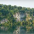 Cedar Hollow Quarry Panorama by Michael Porchik