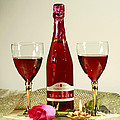 Celebrate With Sparkling Rose Wine by Inspired Nature Photography Fine Art Photography