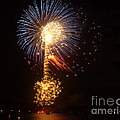 Celebrating The 4th At The Lake 2 by Raymond Earley