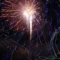Celebration Fireworks Grand Lake Co 2007 by Jacqueline Russell
