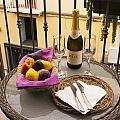 Celebration On An Italian Balcony by Brenda Kean