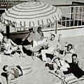 Celebrities On A Beach by Edward Steichen