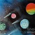 Celestial Planets by Linda Lin