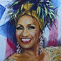 Celia Cruz by Viola El