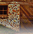 Cellar Door In The Mist by Jack Zulli