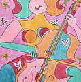 Cellist by Barb Meade