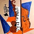 Cello II by Shirley Barone
