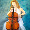 Cello Player by Loretta Luglio