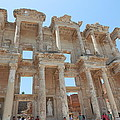 Celsus Library In Ephesus by Pema Hou