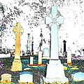 Celtic Crosses by Luther Fine Art