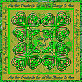 Celtic Irish Clover Home Blessing by Michele Avanti