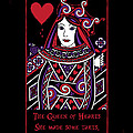 Celtic Queen Of Hearts Part I by Celtic Artist Angela Dawn MacKay