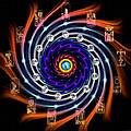 Celtic Tarot Moon Cycle Zodiac by Derek Gedney