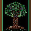 Celtic Tree Of Life by Celtic Artist Angela Dawn MacKay