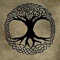 Celtic Tree Of Life by Dan Sproul