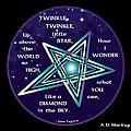 Celtic Twinkle Twinkle by Celtic Artist Angela Dawn MacKay