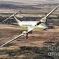 Cemair Beech 1900 Plane Airplane Flying Flight by Paul Fearn