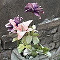 Cemetary Flowers 2 by Richard Booth