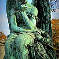 Cemetery Angel 1 by Anita Burgermeister