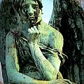 Cemetery Angel 2 by Anita Burgermeister