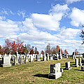 Cemetery At Gettysburg National Battlefield by Brendan Reals