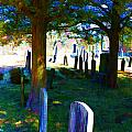 Cemetery Color 2 by Robin Lewis