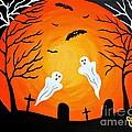 Cemetery Ghosts by JoNeL Art