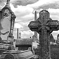 Cemetery Graves by Jennifer Ancker
