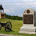 Cemetery Ridge Gettysburg by James Brunker