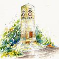 Cenotaph Clock Tower by Pat Katz