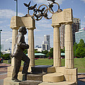 Centennial Olympic Park Sulpture by Jessica Berlin