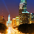 Center City Philadelphia Night by Olivier Le Queinec